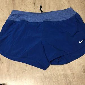"""Blue Nike Women's 3"""" Rival Running Shorts"""